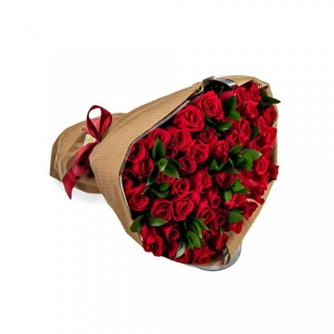 Mega Buquê com Rosa Vermelha GG
